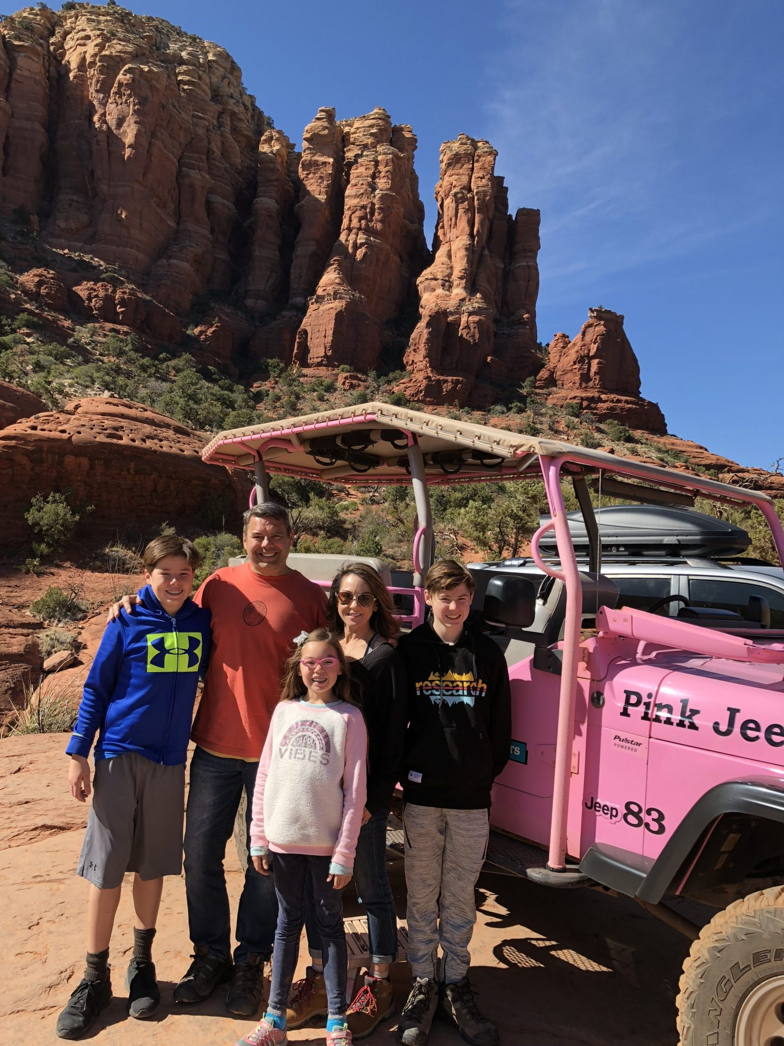 Broken Arrow Pink Jeep Tour - Just a Mom with Her Blog