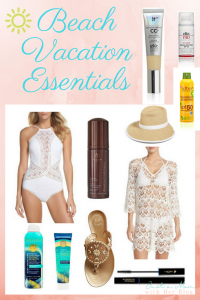 Beach Vacation Essentials - Just a Mom with her Blog