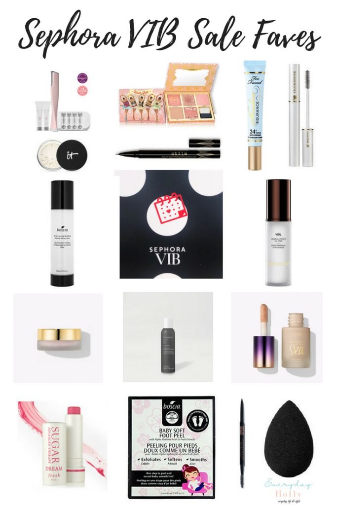 Sephora VIB 2018 Must Haves