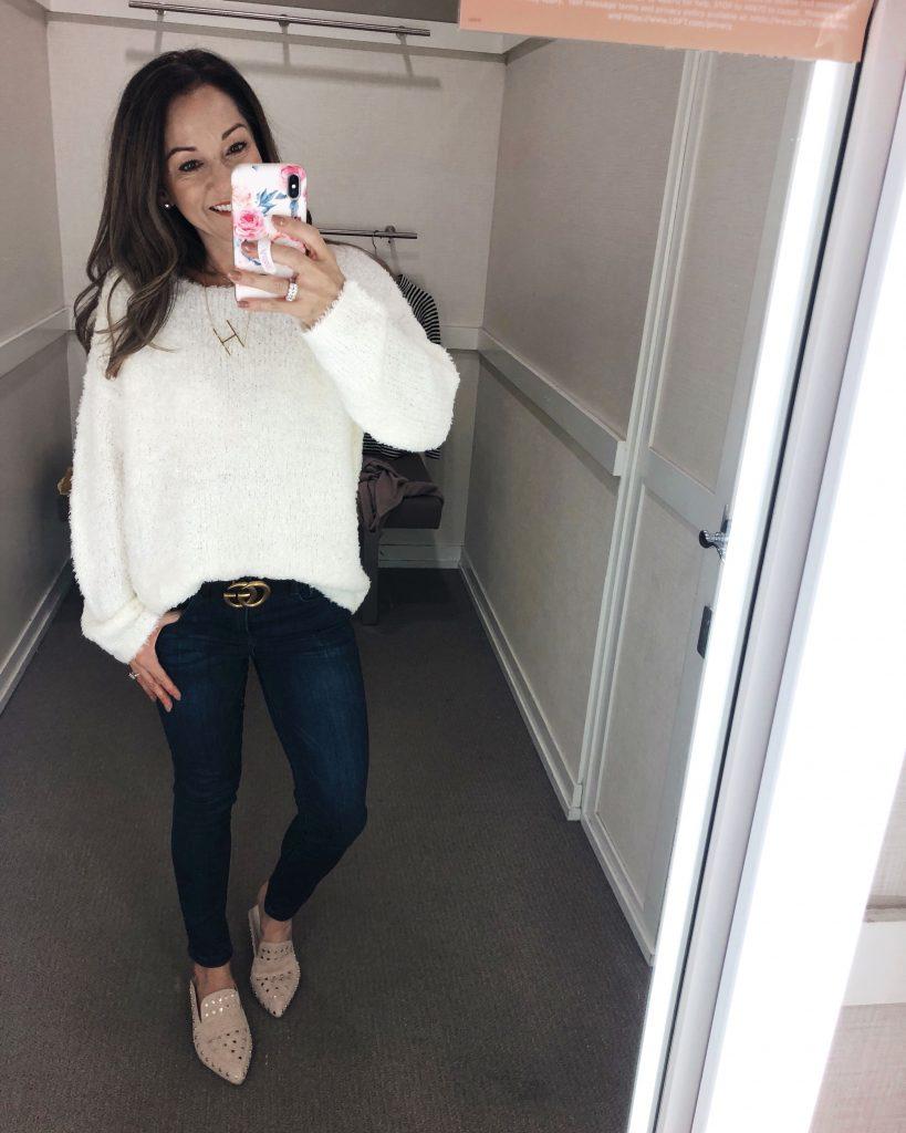 Lou & Grey Fuzzy Sweater