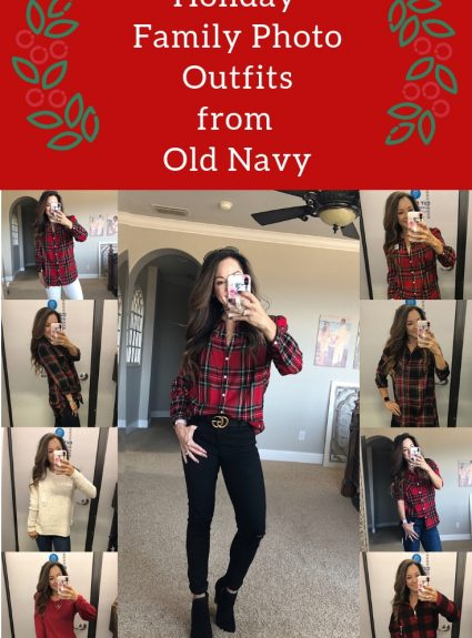 Affordable Holiday Family Photo Outfits from Old Navy