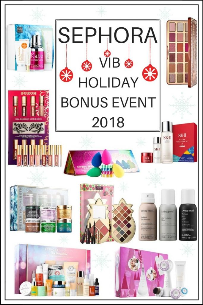 Sephora Holiday VIB Sale Bonus Event Fall 2018 - all the details and all the best products