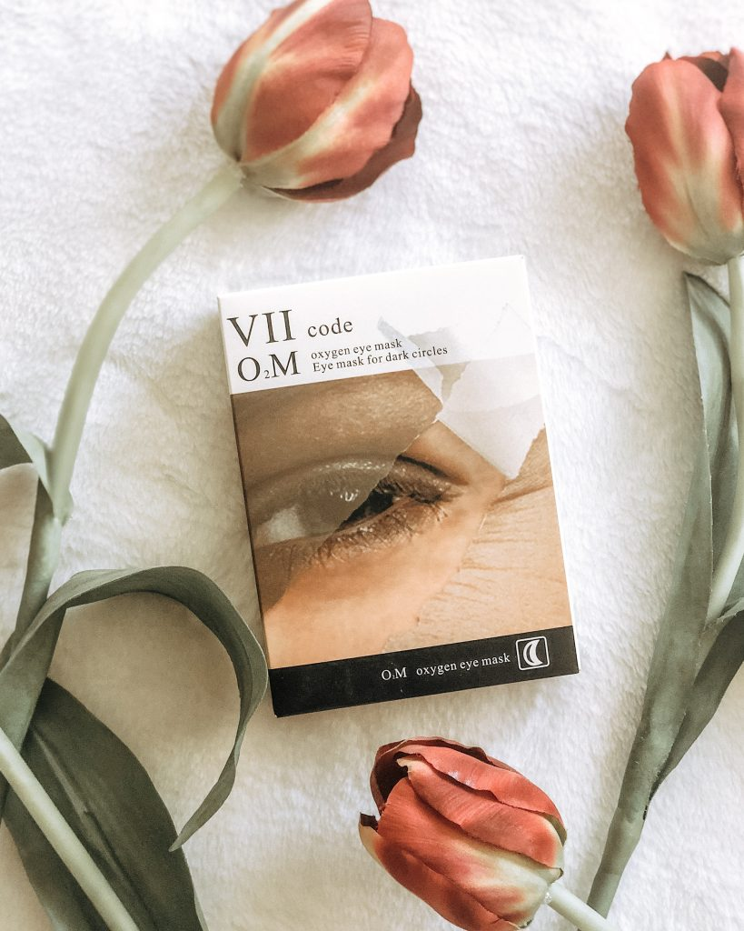 Self-Care with VIICode O2M Oxygen Eye Mask