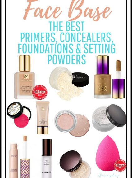 Face Base – The Best Primers, Concealers, Foundations and Setting Powders