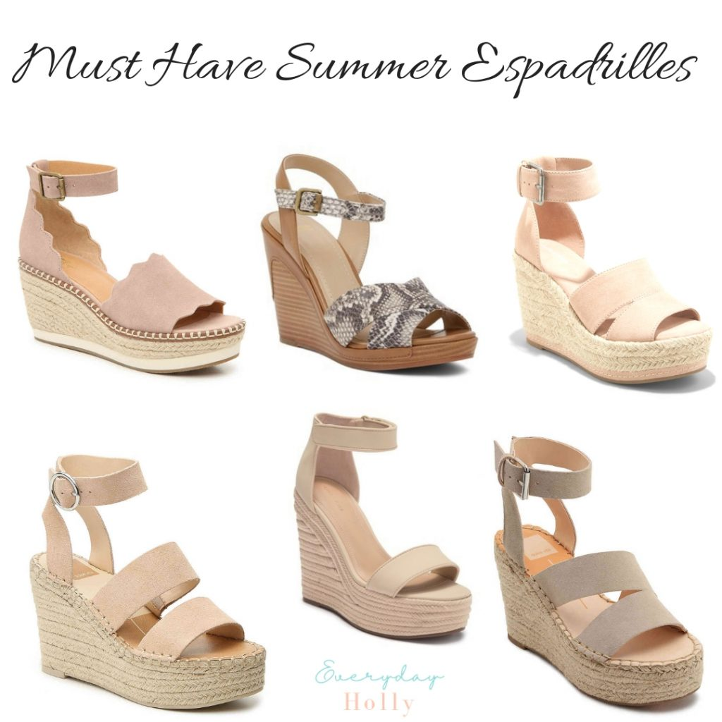 Must Have Affordable Spring & Summer Wedges Espadrilles