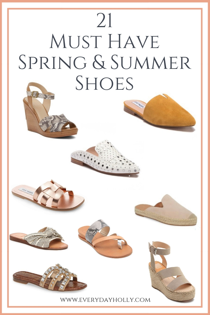 footwear look for great deals 21 Must Have Affordable Spring & Summer Shoes - Everyday Holly