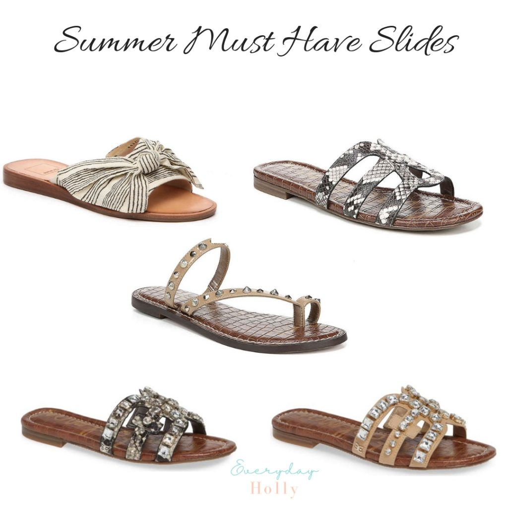 Must Have Affordable Spring & Summer Slides
