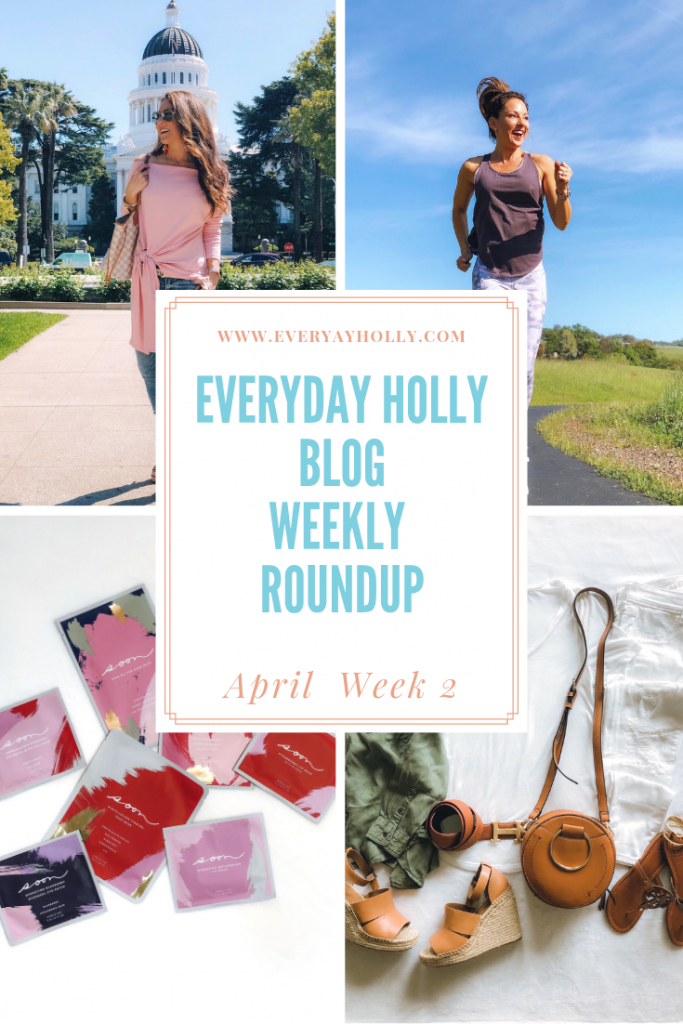 Everyday Holly Blog Weekly roundup week 2 Pink Lily, Fabletics, Amazon Fashion, Soon Skincare