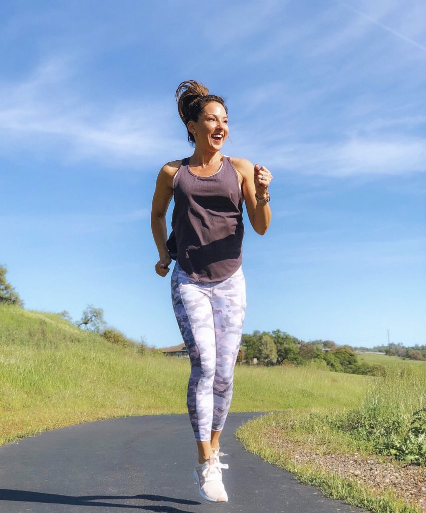 Everyday Holly Weekly Roundup week 2 Fabletics workout camo