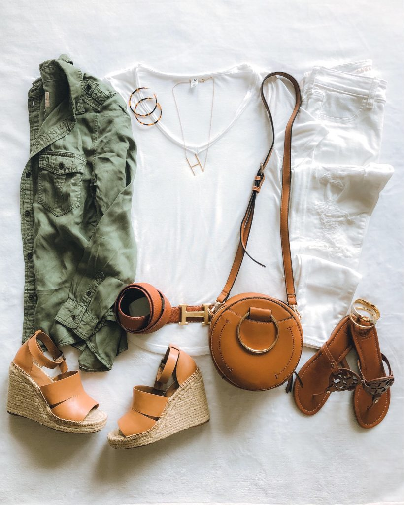 Everyday Holly Blog Weekly Roundup - April Week 2 everyday style, best wedges and white denim