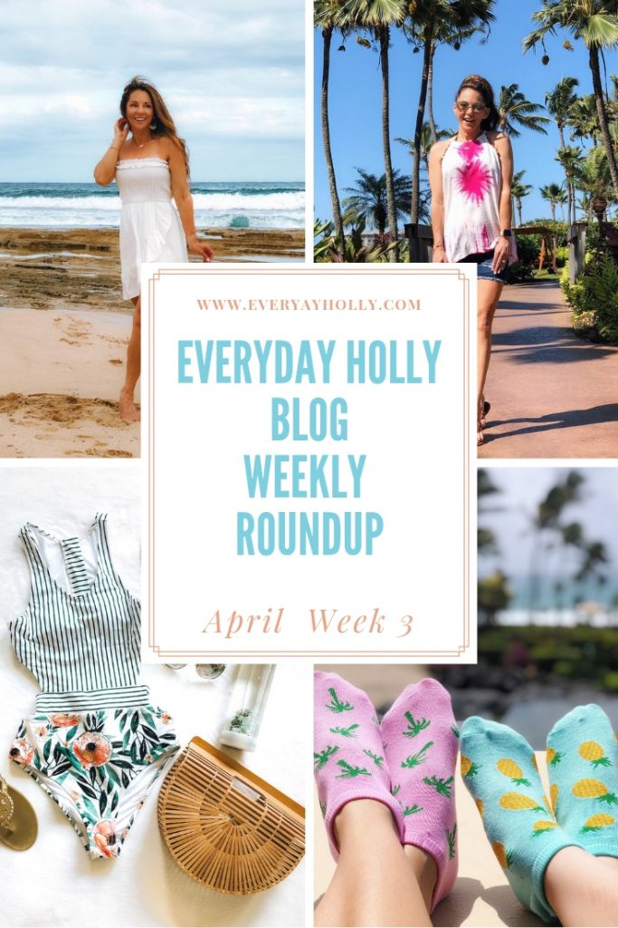 Everyday Holly Blog Weekly Roundup - April Week 3 K.bell socks summer style