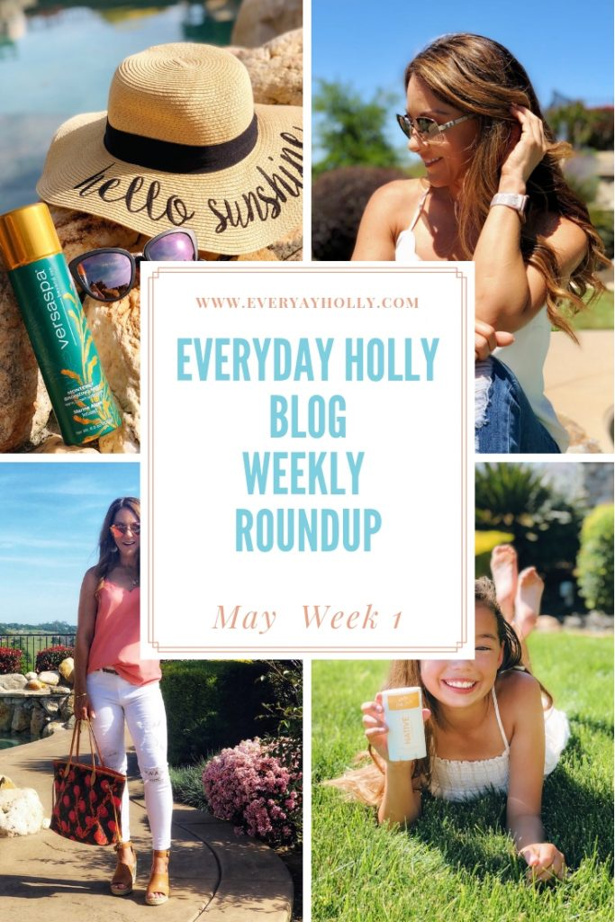 Everyday Holly Weekly Round up May Shari's berries, Native, Versaspa, Vine Vera, Sparklband