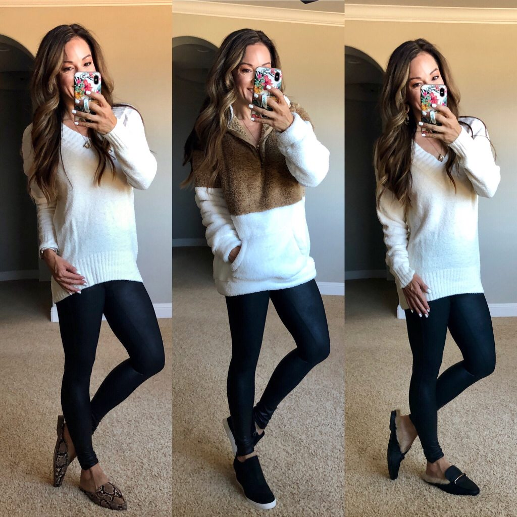 11 Ways to style Spanx Faux Leather leggings for all seasons