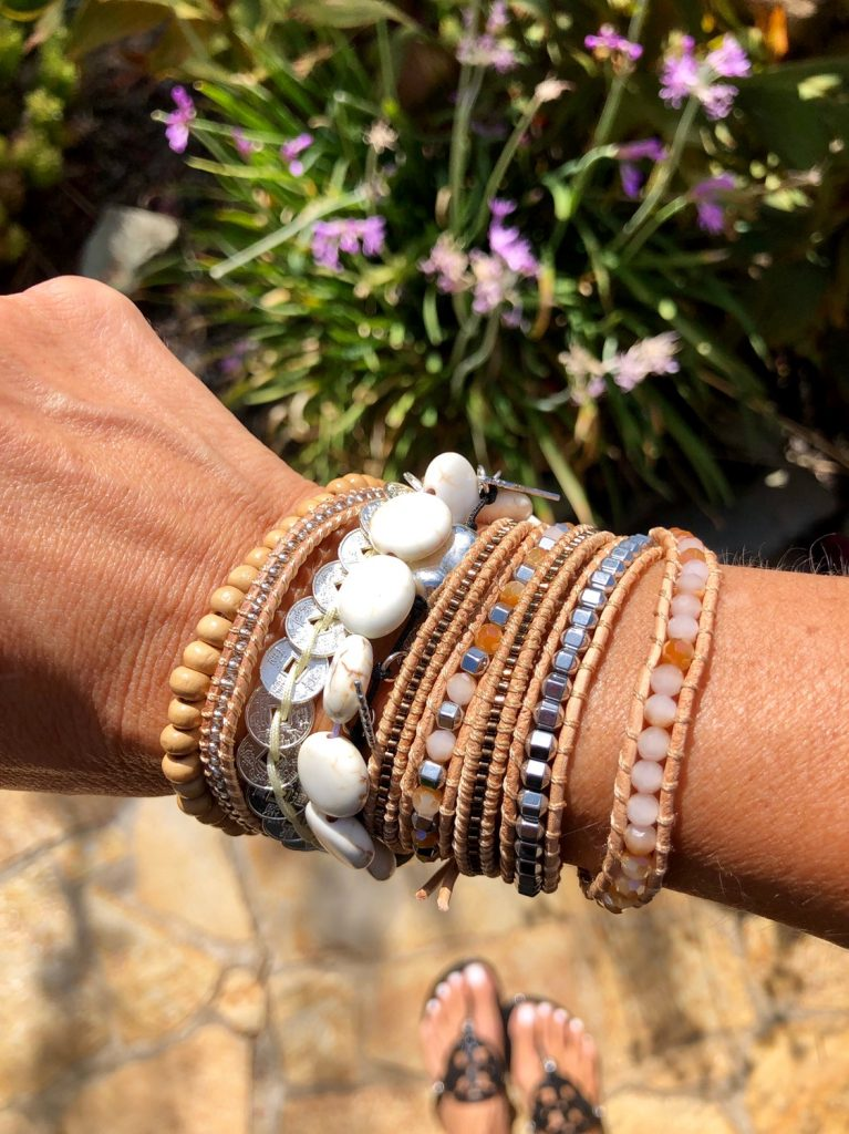 Victoria Emerson stack bracelets - Everyday Holly