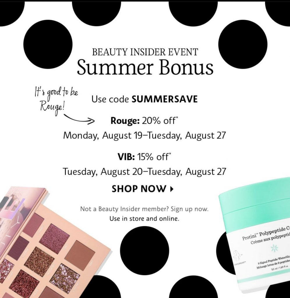 Sephora VIB Sale feature all of my go to must have beauty products and tools
