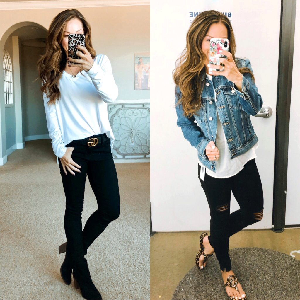 Black denim favorite from Old Navy