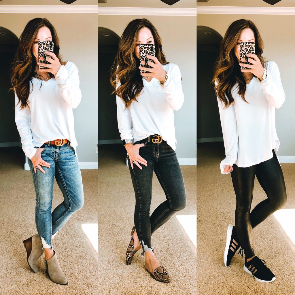 The best white long sleeve tee
