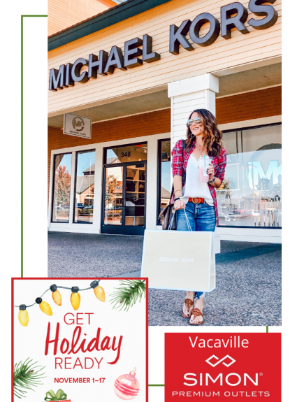 Get Holiday Ready with the Vacaville Premium Outlets