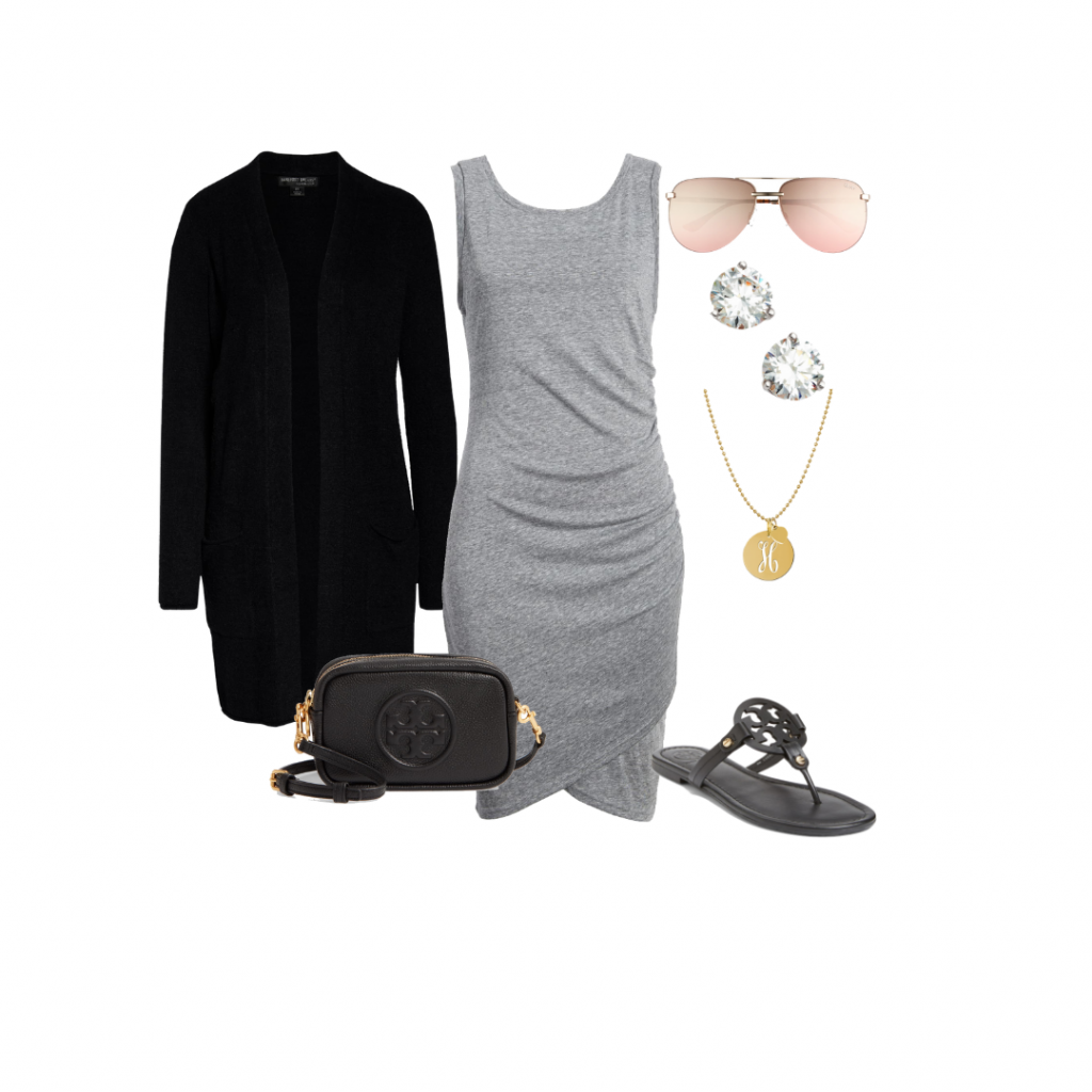 casual dress outfit ideas capsule wardrobe Everyday Holly