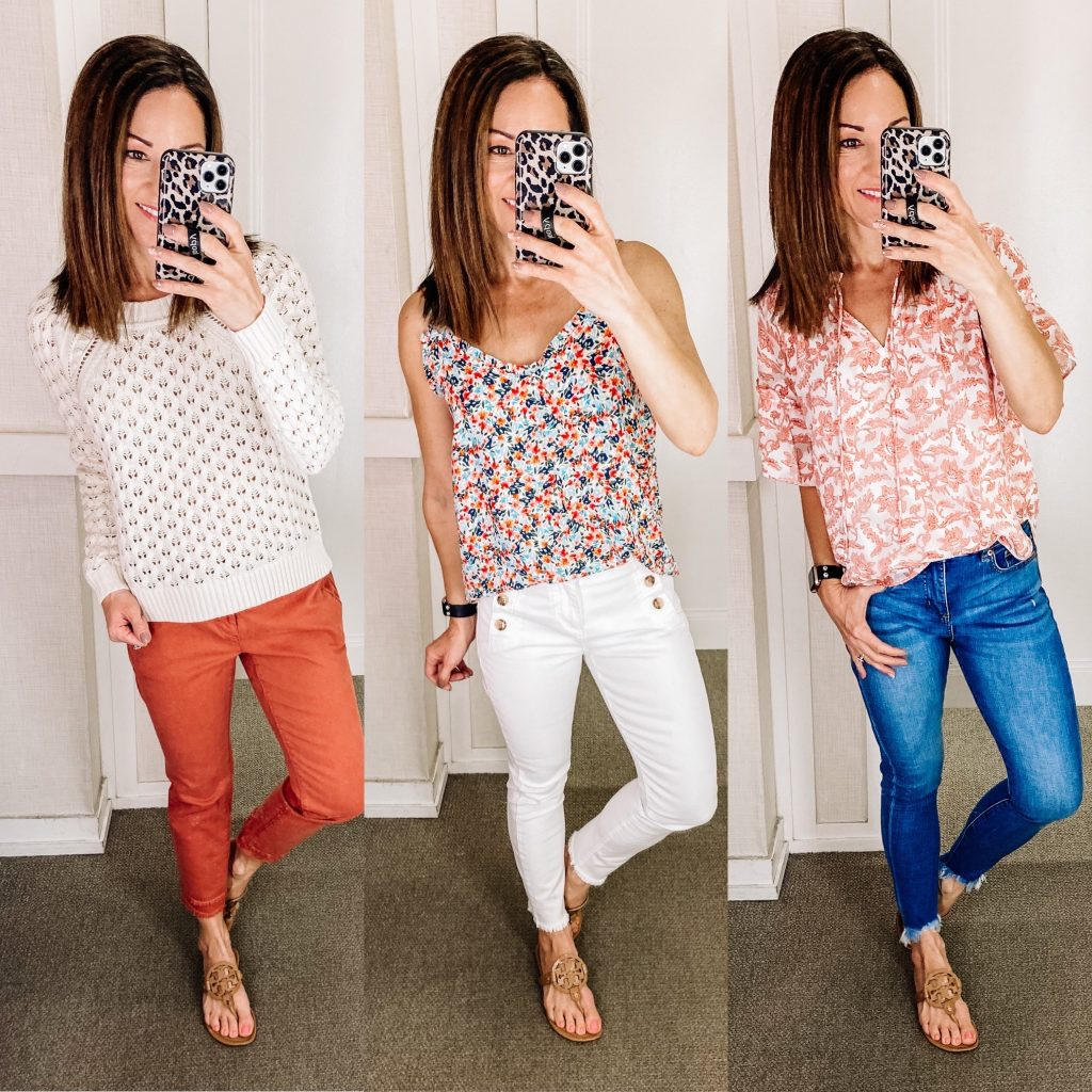 spring transition outfits