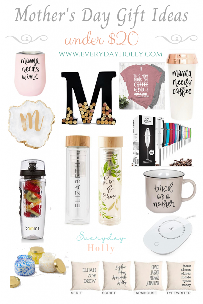 Mother's Day gifts for her under $20