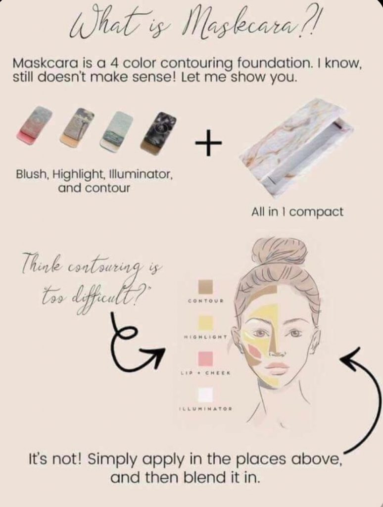 What is Maskcara beauty?  It's the best makeup you will ever try!  so quick and easy!