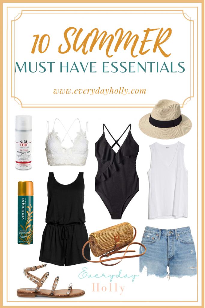 10 summer essentials for moms