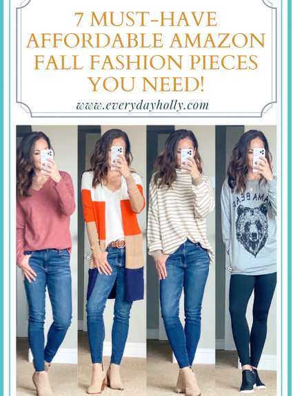 7 Must-Have Affordable Amazon Fall Fashion Pieces You Need!
