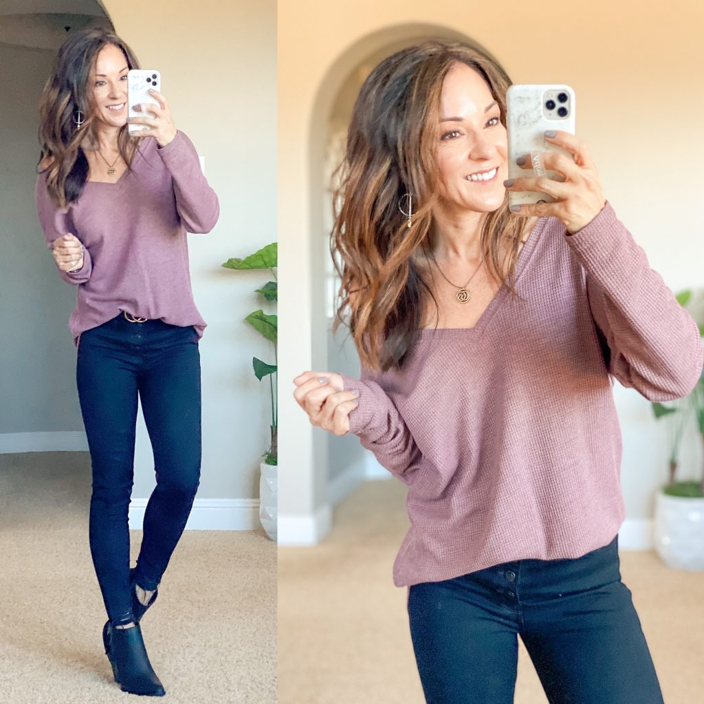 fall top - off the shoulder must have everyday style