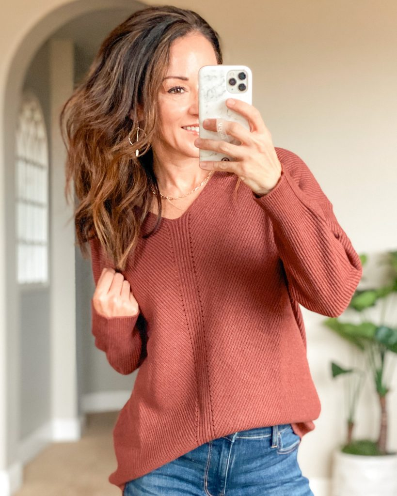 affordable fall Sweater from Amazon prime