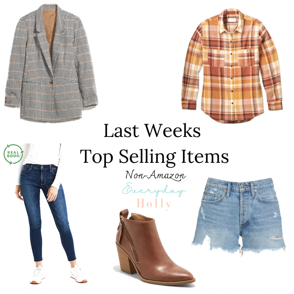 Fall fashion top sellers from last week