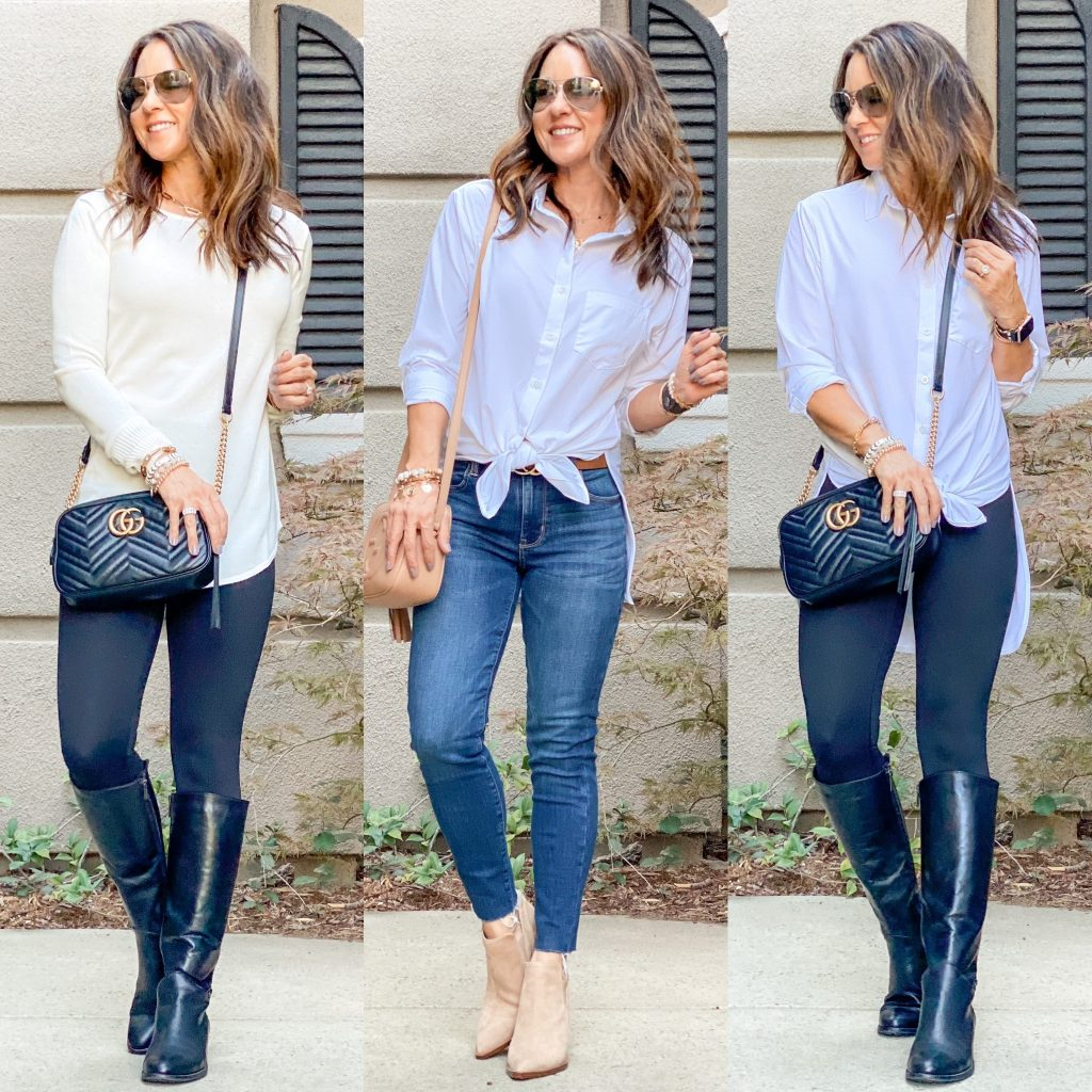 discover peach // womens fall fashion // petite fashion // petite style // classic style // over 40 style // over 40 outfits