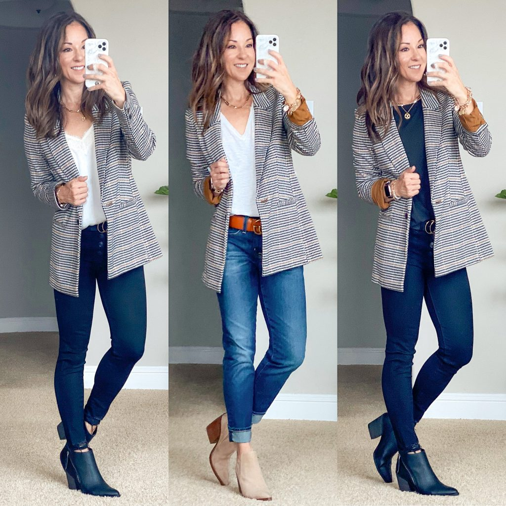 Old navy style // blazer outfits // outfit ideas // blazer style // work styles //fall outfits // fall style