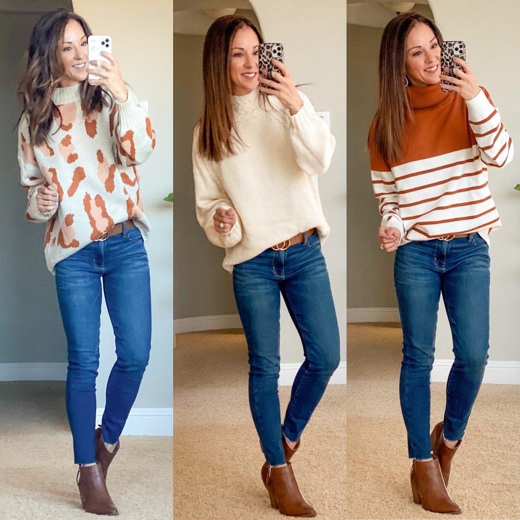 affordable casual sweaters outfit ideas