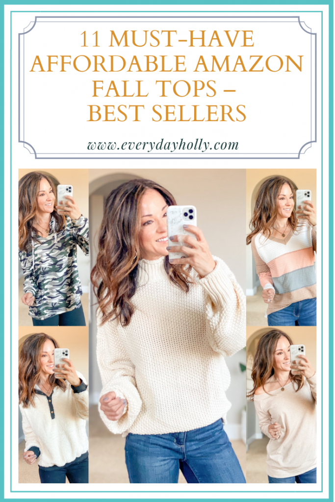 Amazon must have style // fall fashion // fall tops