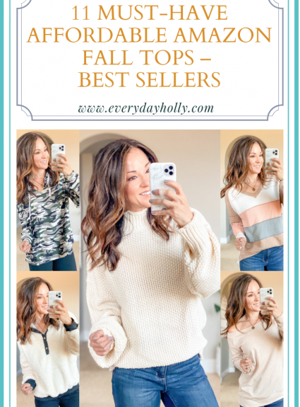 11 Must-Have Affordable Amazon Fall Tops – Best Sellers