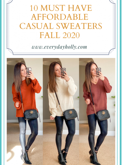 10 Must-Have Affordable Sweaters – Casual Style – Fall 2020
