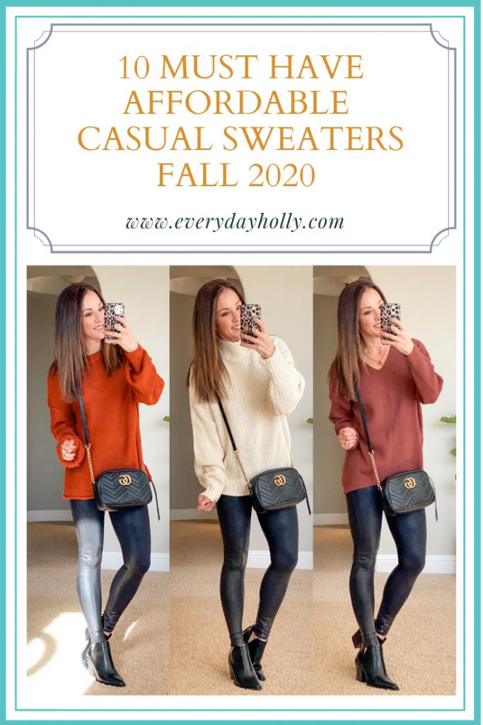 10 must have affordable fall sweater