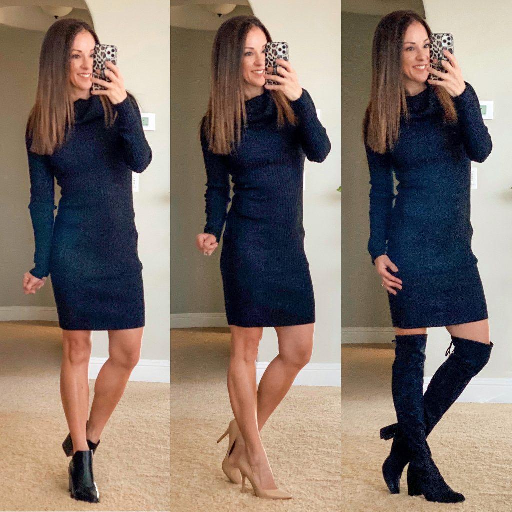 amazon sweater dress // work style // teacher style // best sweater dress // affordable sweater dress