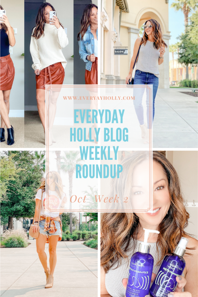 Everyday holly weekly roundup October