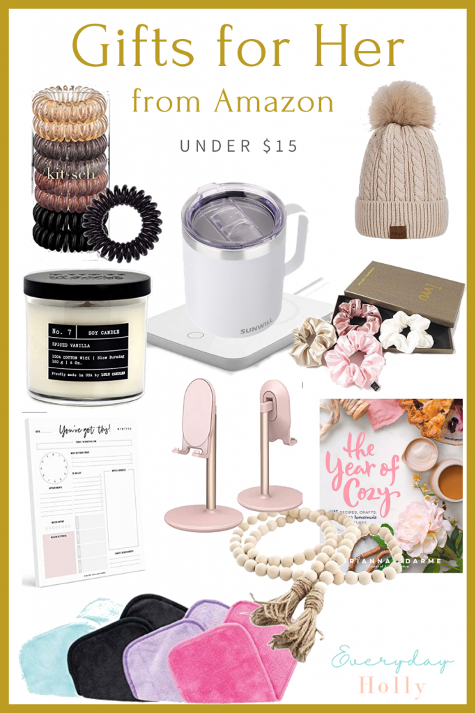Gift guides for her under $15, Amazing Gift guide for her, gifts for mom, gifts for friends, gifts for girlfriends, affordable gifts, gift ideas for her