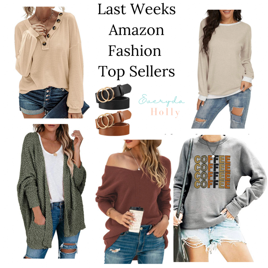 Amazon fashion best sellers from last week, fall fashion, affordable fashion, everyday style