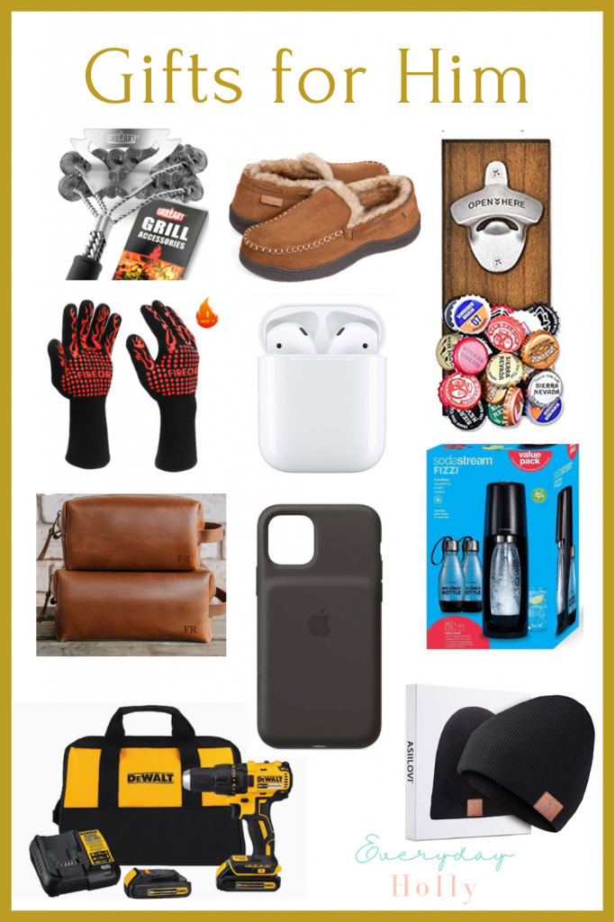 gifts for him, gifts for dads, gifts for husbands, gifts for men, christmas gift guides