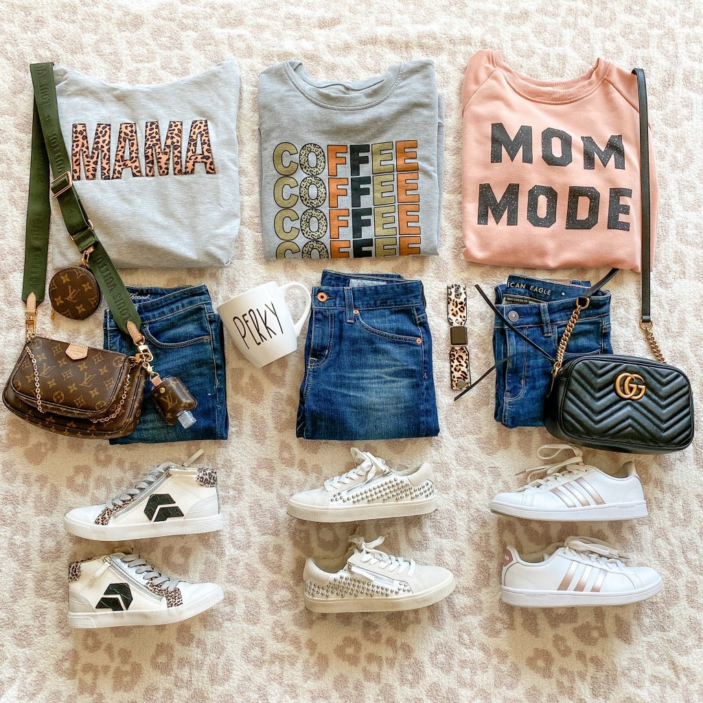 outfit flatlay,  mom style, mama, comfy outfits, everyday style, casual outfits, fall fashion, fall outfit inspo