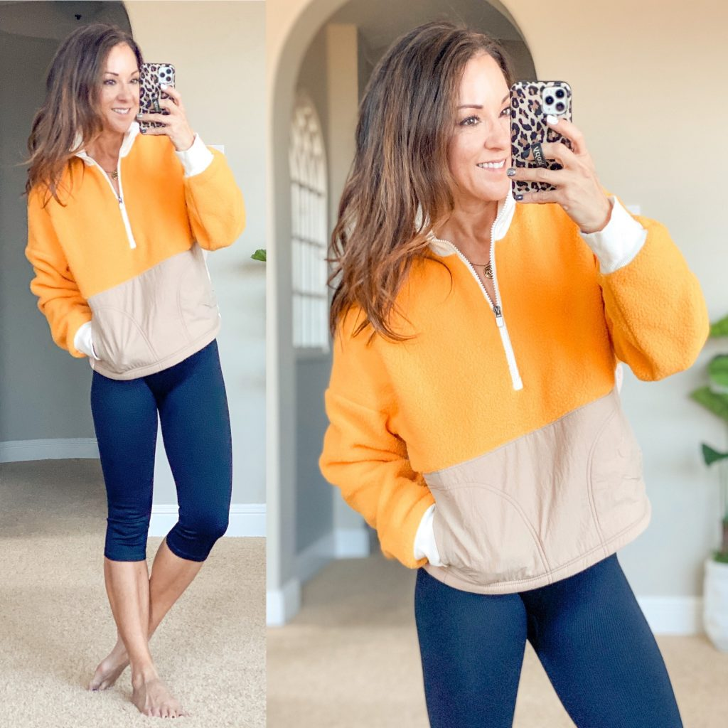 fabletics outfit, athleisure, leggings,