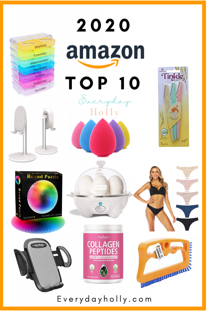 THE BEST OF 2020 – AMAZON FAVORITES FROM EVERYDAY HOLLY BLOG