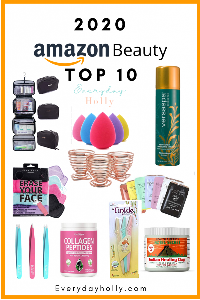 THE BEST OF 2020 – AMAZON BEAUTY FAVORITES FROM EVERYDAY HOLLY BLOG