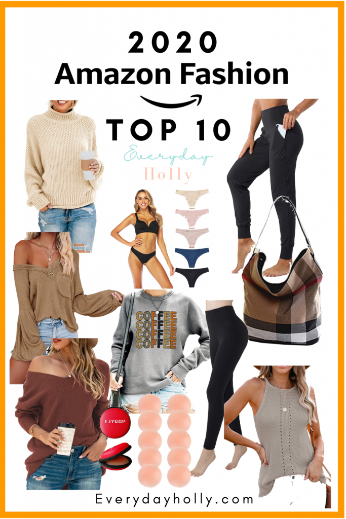 THE BEST OF 2020 – AMAZON FASHION FAVORITES FROM EVERYDAY HOLLY BLOG