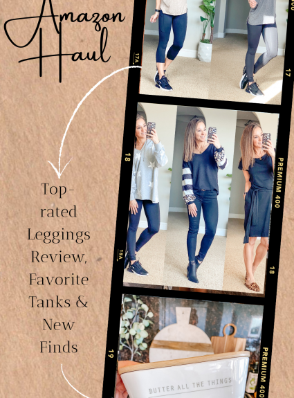 Amazon Haul! Top-rated Leggings Review, Favorite Tanks & New Finds