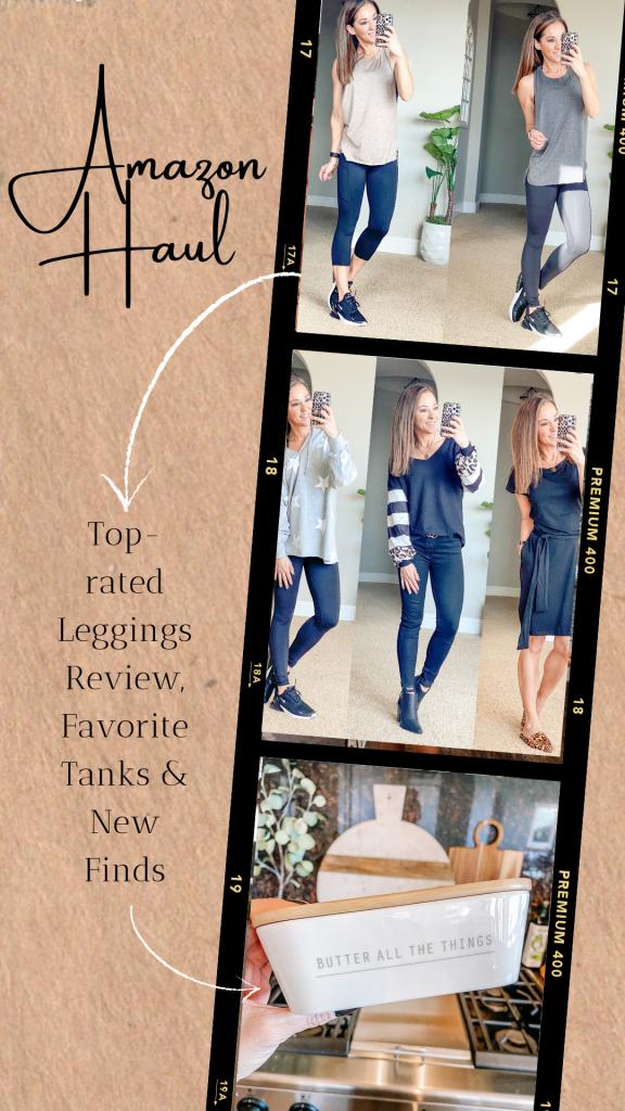 Amazon haul - best leggings review, summer dress, butter dish , amazon favorites